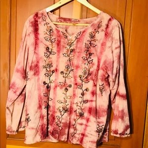 Tops - Blouse Indian Print